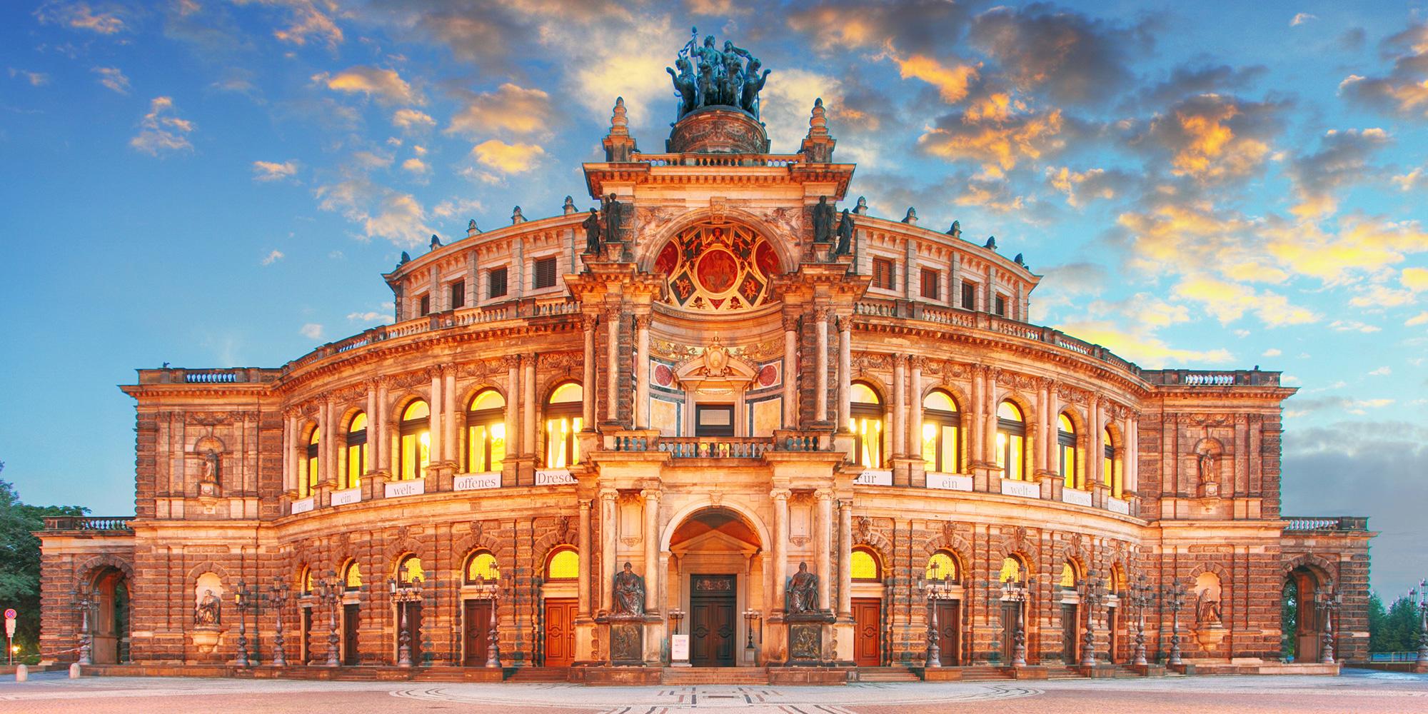 Semperoper Dresden Bild vergrößern