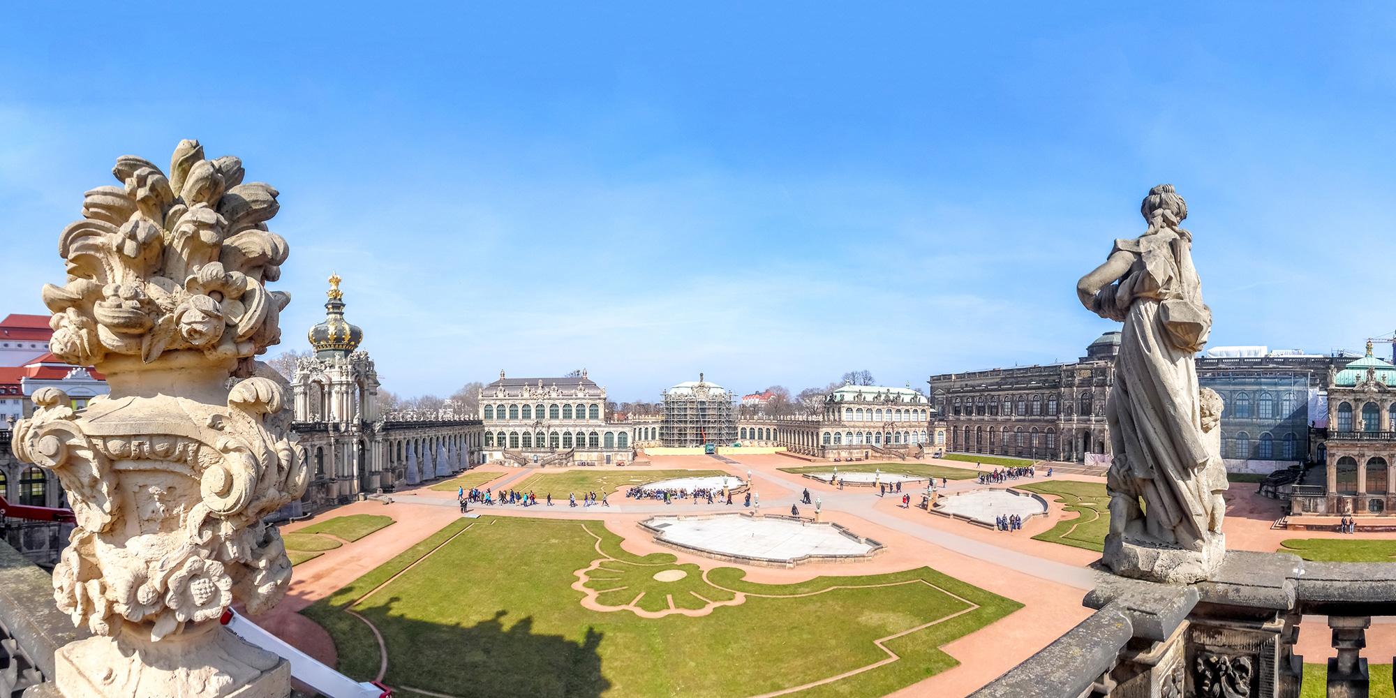 Dresdner Zwinger Bild vergrößern